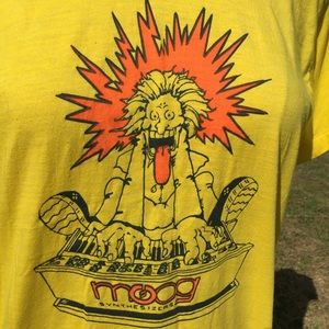 Vintage Moog Synthesizers T shirt